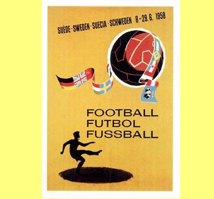 1958 FIFA World Cup Logo