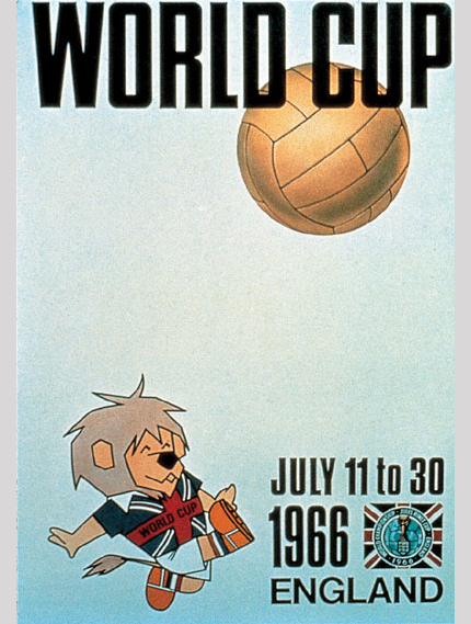 1966 FIFA World Cup Logo