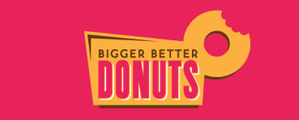 Bigger Better Donuts Logo