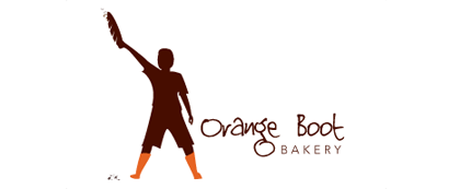 Orange Boot Bakery Logo