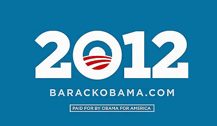 Barack Obama 2012 Re-election Campaign Logo
