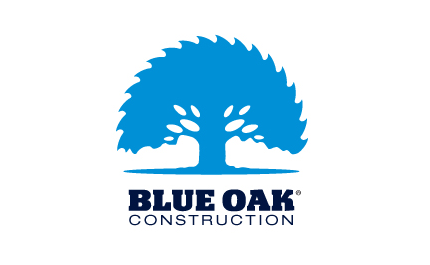 Blue Oak Construction logo