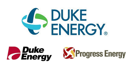 Duke Energy logo new old evolution history design