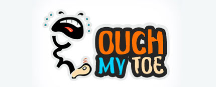 Ouch My Toe Logo