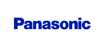 panasonic logo design and history of panasonic logo rh famouslogos us electronic component company logos electric company logos