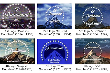 Paramount Pictures Logo Evolution