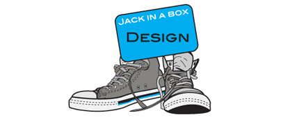 Jack In A Box Design Logo