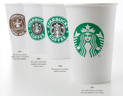 starbucks logo redesign