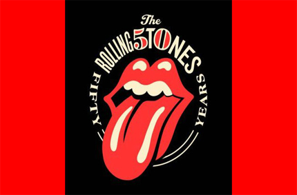 The Rolling Stones' 50th Anniversary Logo