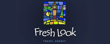 Fresh Look Travel Agency Logo