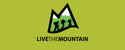 Live The Mountain Logo