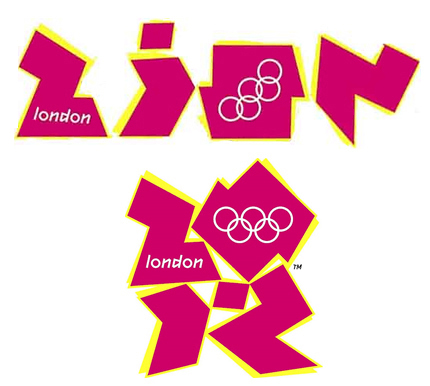 2012 London Olympics logo resembles Zion